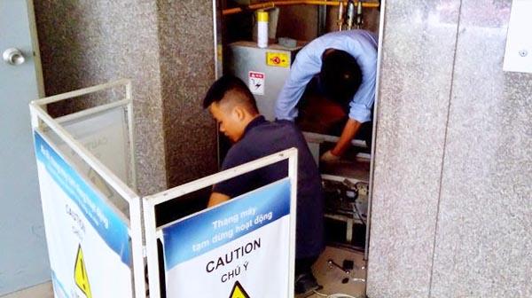 Sửa chữa thang máy tại Hải Phòng