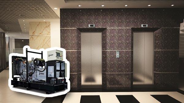 Những điều chú ý đối với máy phát điện cho thang máy