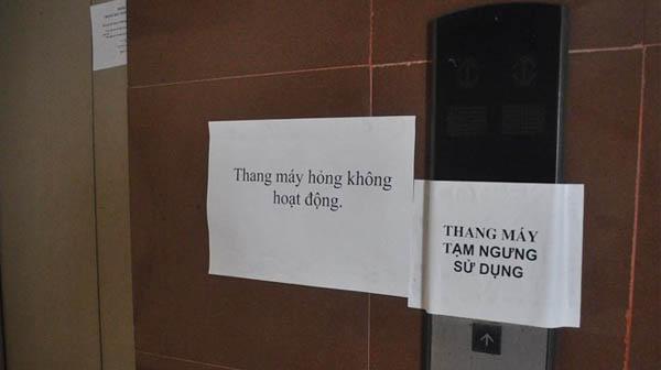Nguyên nhân dẫn đến việc hư hỏng thang máy