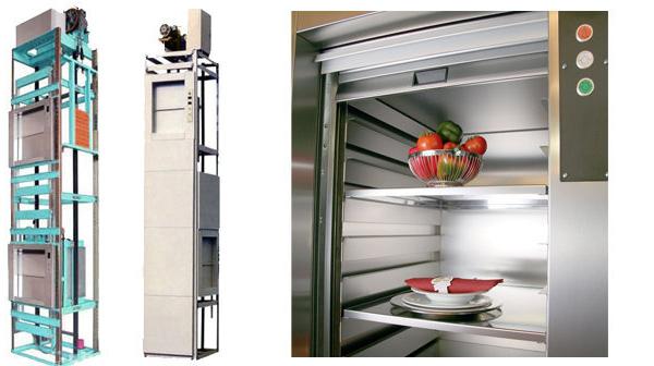 Công dụng của thang máy tải hàng thực phẩm