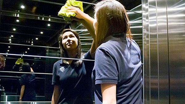 Một số nguyên tắc trong quá trình vệ sinh thang máy