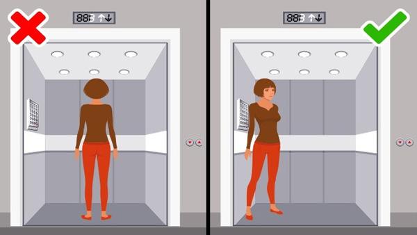 9 kỹ năng phòng vệ khi thang máy cùng người lạ
